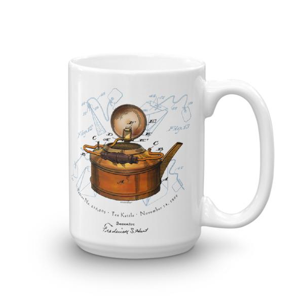 Tea Kettle 15oz Mug