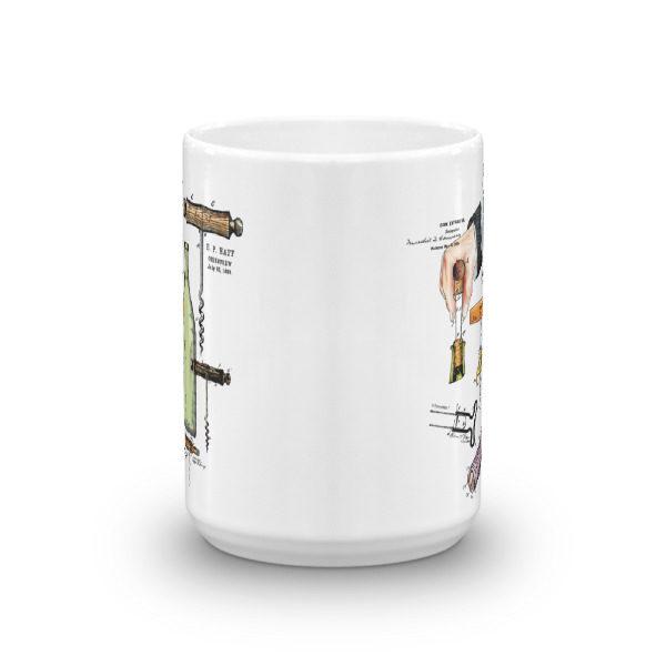 Corkscrew MS-Color 15oz Mug FRONT VIEW