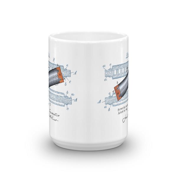 Harmonica 15oz Mug FRONT VIEW