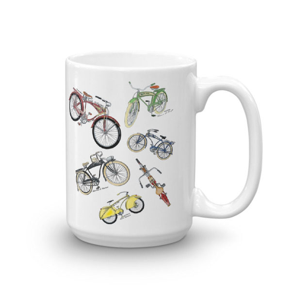 Bicycles MS-Color 15oz Mug