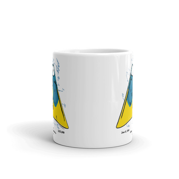 Churchill Fins 11oz Mug FRONT VIEW