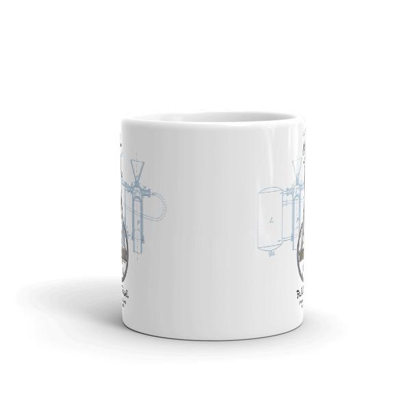 Diesel Engine 11oz Mug FRONT VIEW