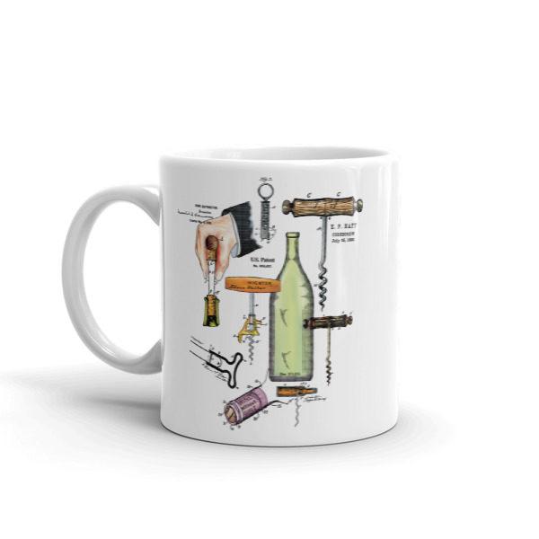 Corkscrew MS-Color 11oz Mug