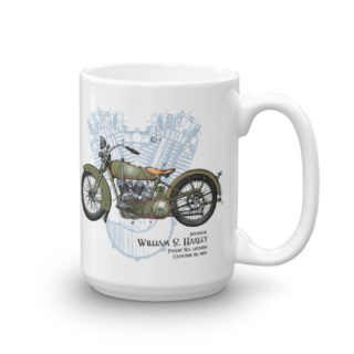 William S. Harley Patent Mug