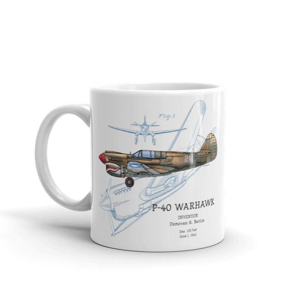P-40 Warhawk 11oz Mug