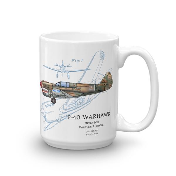 P-40 Warhawk 15oz Mug