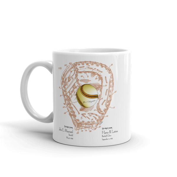 Ball and Glove 11oz Mug