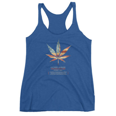 Cannabis 507 Women's Racerback Tank VINTAGE ROYAL