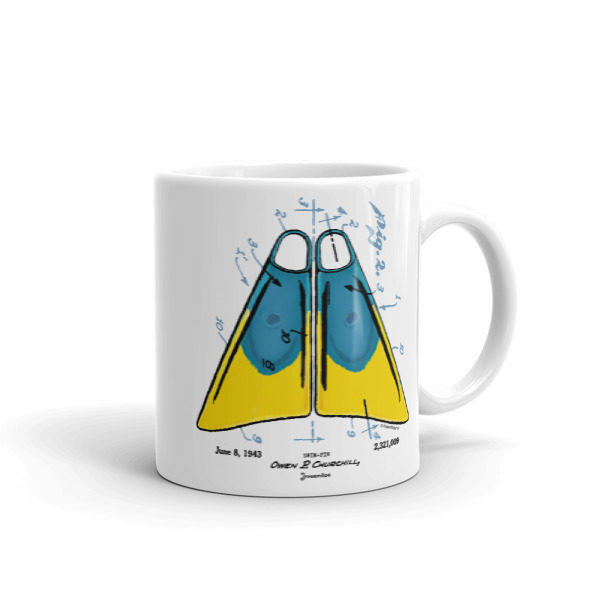 Churchill Fins 11oz Mug