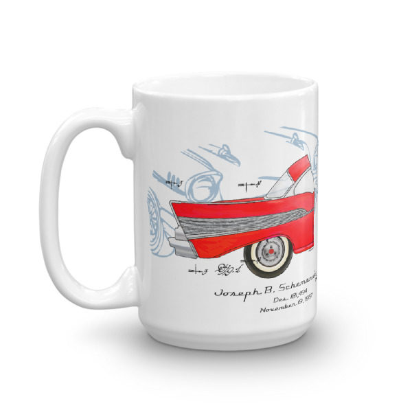 57 Chevy 15oz Mug