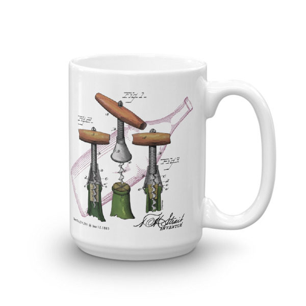 Corkscrew-Strait 15oz Mug