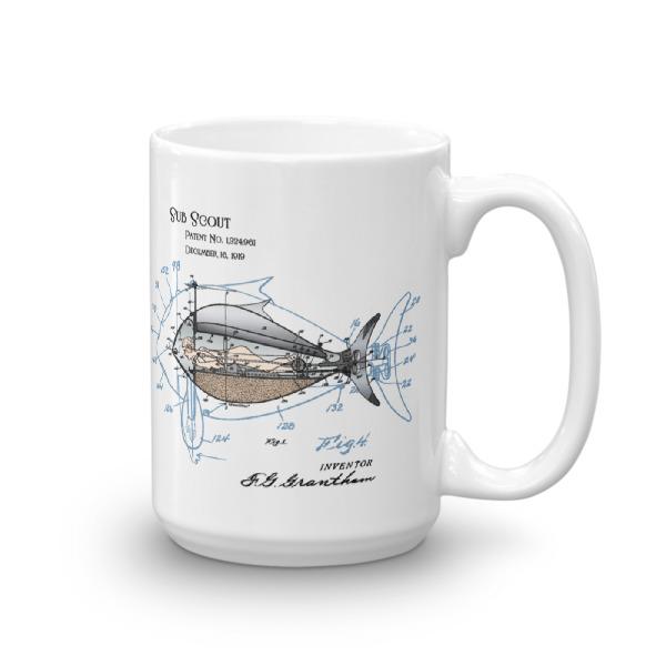 Sub Scout 15oz Mug