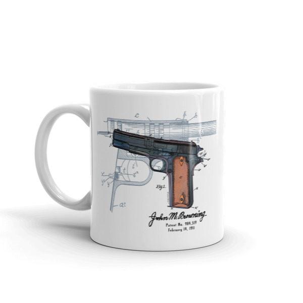 Browning Model 1911 11oz Mug