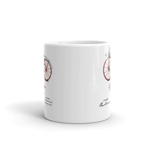 Velocipede 11oz Mug FRONT VIEW