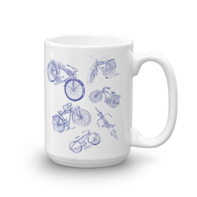 Bicycles MS-Lineart 15oz Mug
