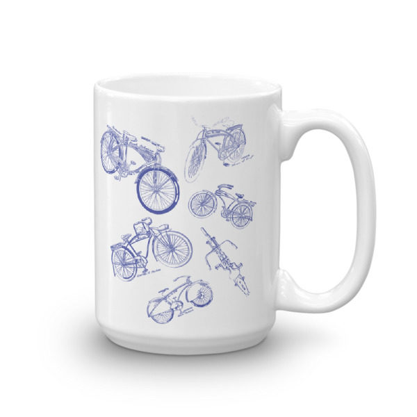 Bicycles MS-Lineart 15oz Mug