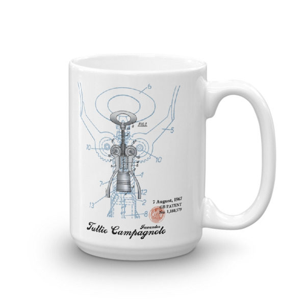Corkscrew BIG Campy 15oz Mug