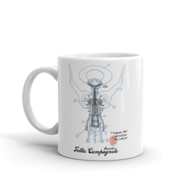 Corkscrew BIG Campy 11oz Mug