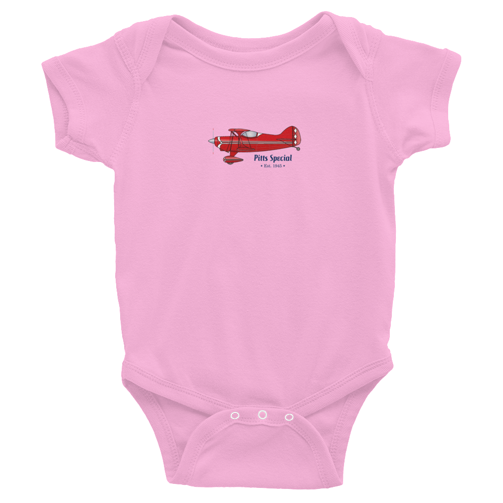 Pitts Special Wee Onesie PINK