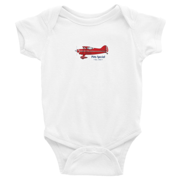 Pitts Special Wee Onesie WHITE