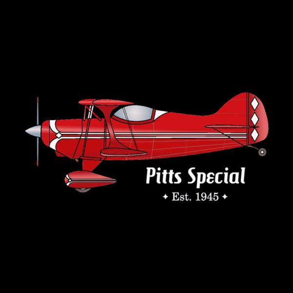 "Pitts Special ""Pocket"" Design on Darks"