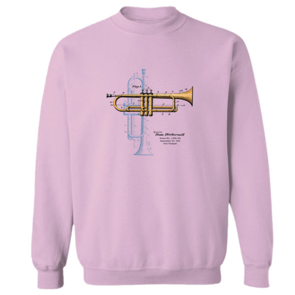 Trumpet Solo Crewneck Sweatshirt LIGHT PINK