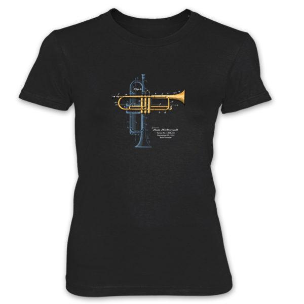 Trumpet Solo Women's T-Shirt BLACK