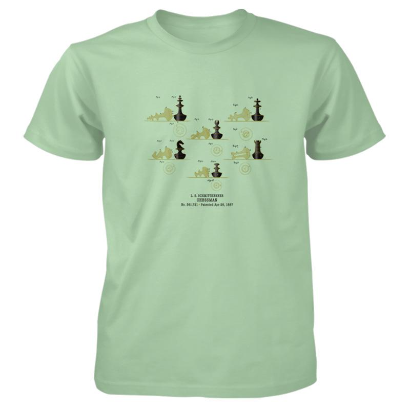 Chessman T-Shirt MINT GREEN