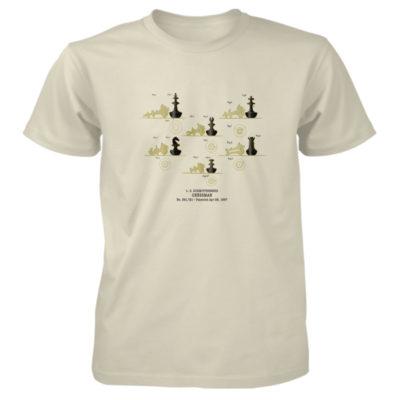 Chessman T-Shirt NATURAL