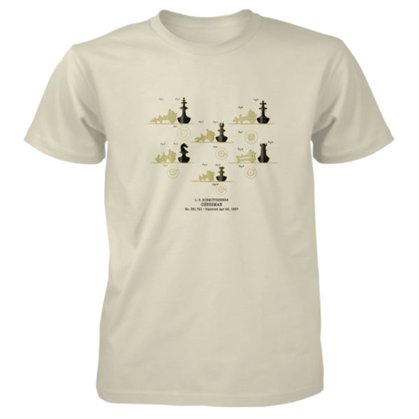 Chessman T-Shirt NATURAL