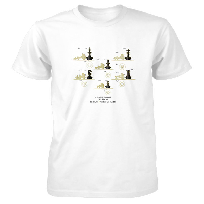 Chessman T-Shirt WHITE
