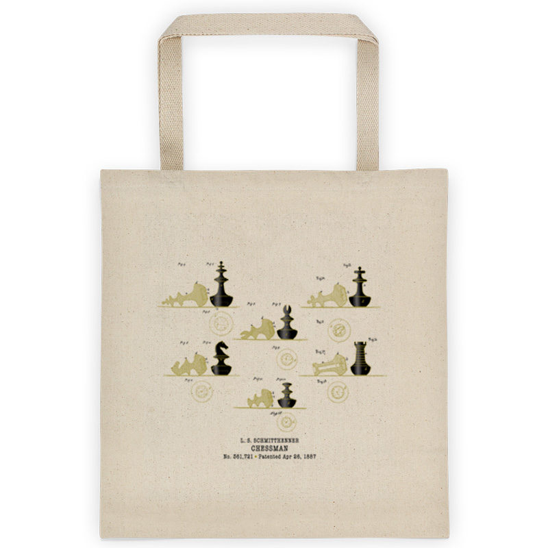 Chessman Tote Bag FRONT
