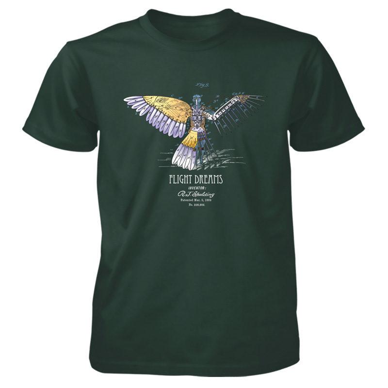 Flight Dreams T-Shirt FOREST