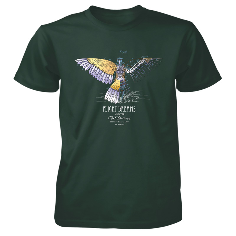 Flight Dreams T-Shirt FOREST