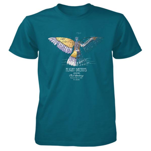 Flight Dreams T-Shirt GALAPAGOS BLUE