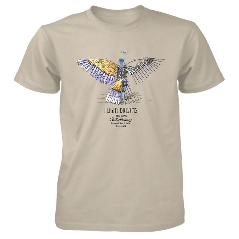Flight Dreams T-Shirt SAND