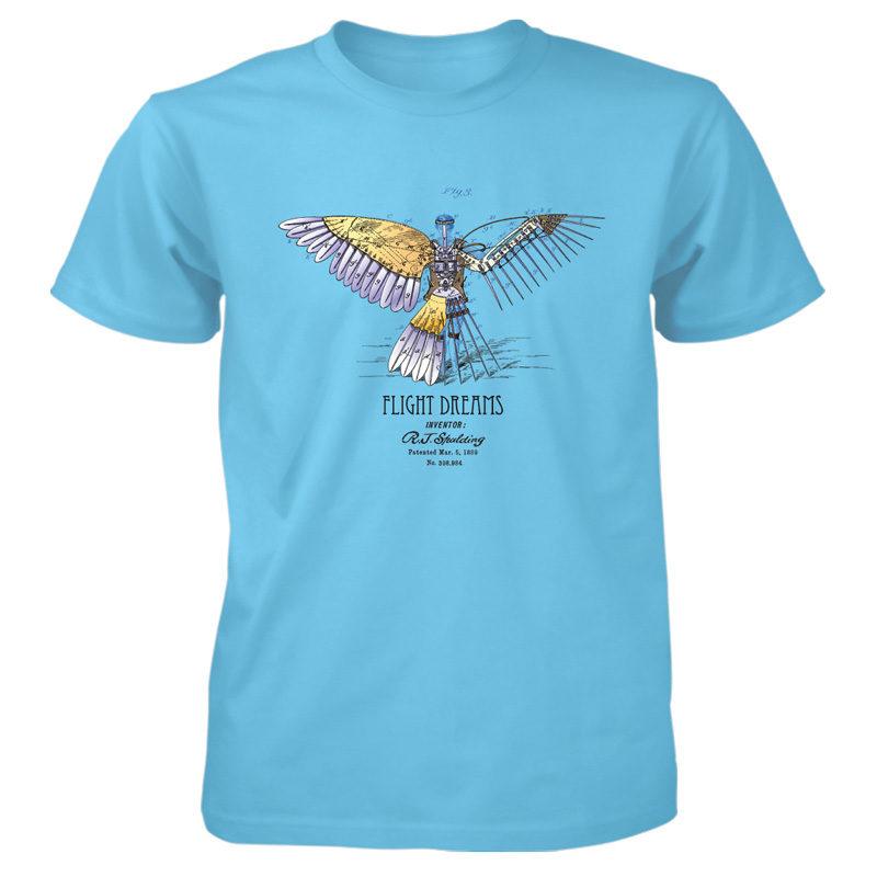 Flight Dreams T-Shirt SKY