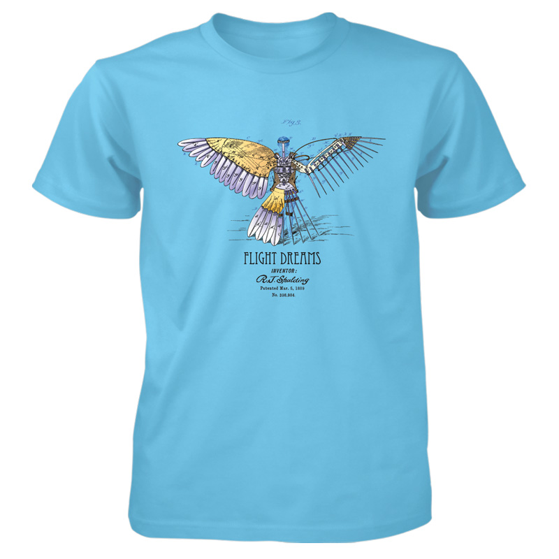 Flight Dreams T-Shirt SKY