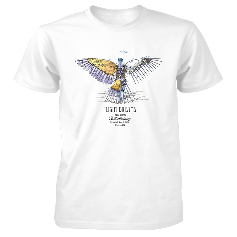 Flight Dreams T-Shirt WHITE