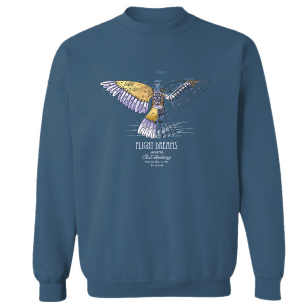 Flight Dreams Crewneck Sweatshirt INDIGO