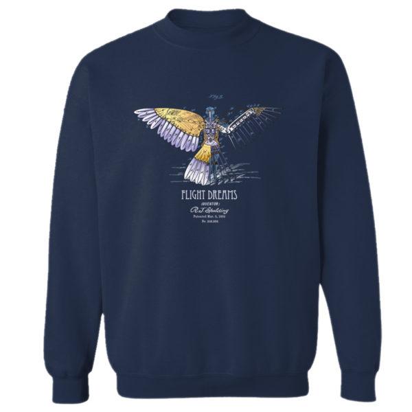 Flight Dreams Crewneck Sweatshirt NAVY