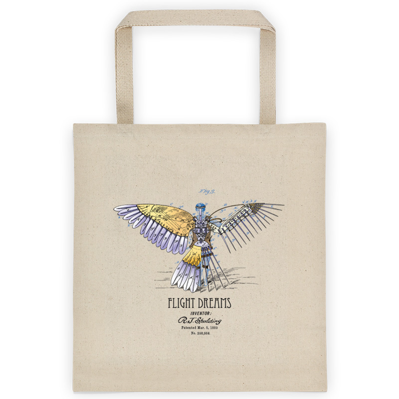 Flight Dreams Tote Bag FRONT