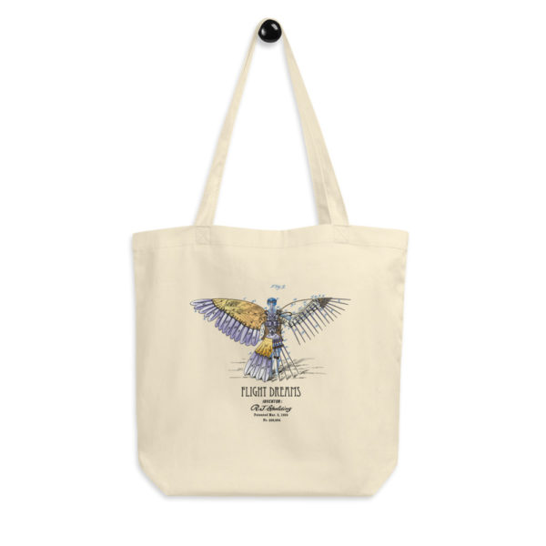 Flight Dreams Tote Bag hagning