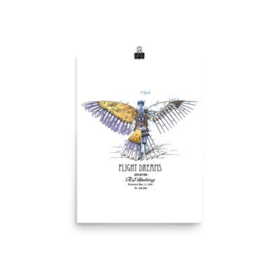 Flight Dreams Wall Art 1 Unframed 12x16
