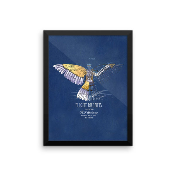 Flight Dreams Wall Art 2 Framed 12x16