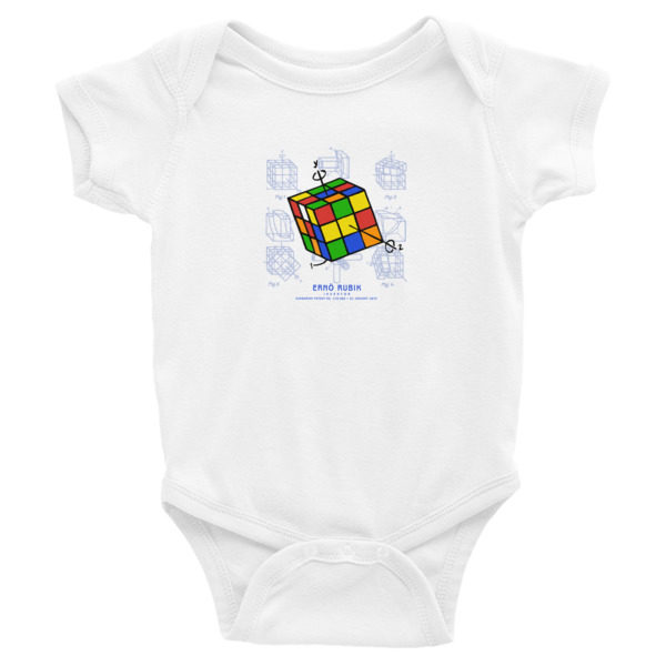 Magic Cube Wee Onesie WHITE