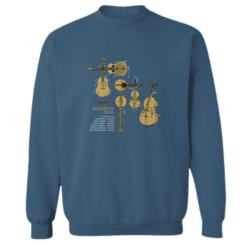 Bluegrass Band Crewneck Sweatshirt INDIGO BLUE