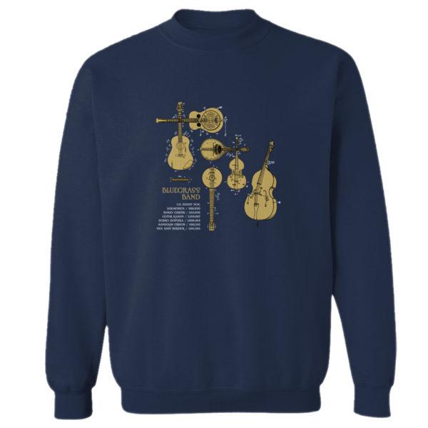 Bluegrass Band Crewneck Sweatshirt NAVY
