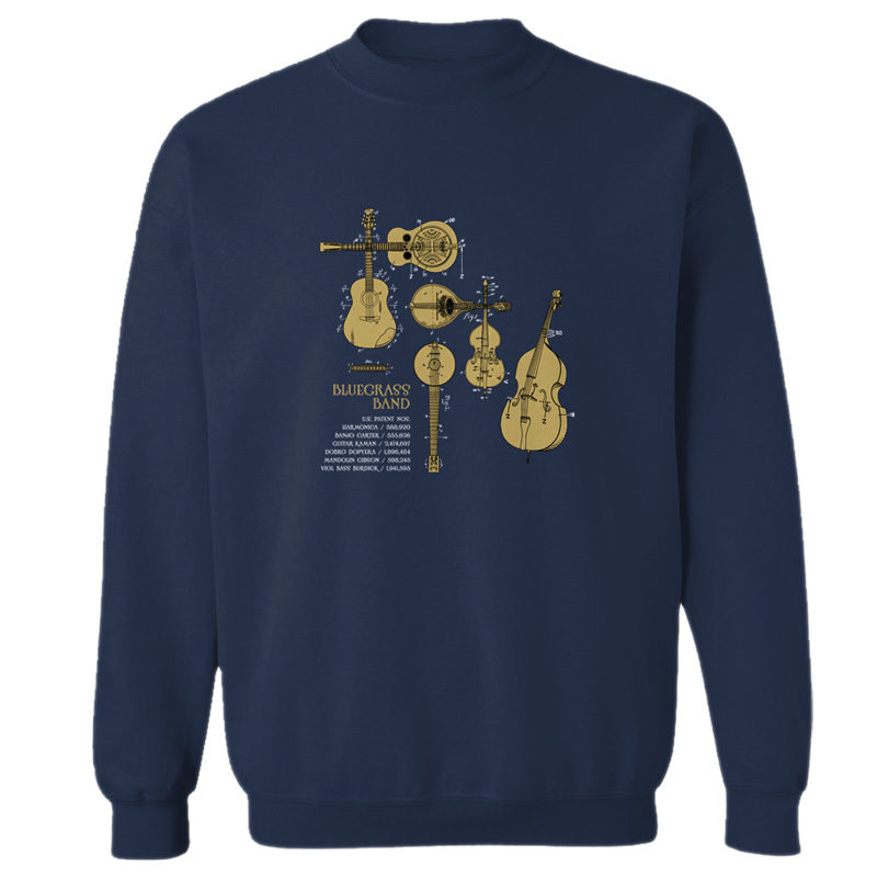 Bluegrass Band Crewneck Sweatshirt NAVY