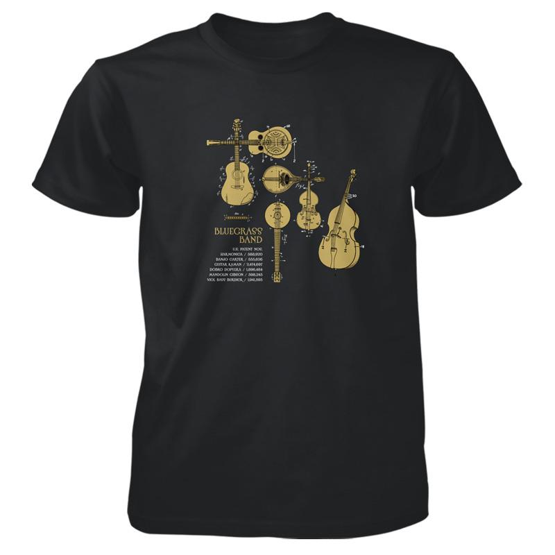 Bluegrass Band T-Shirt BLACK